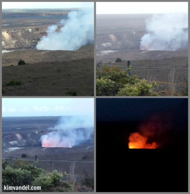 Kilauea collage